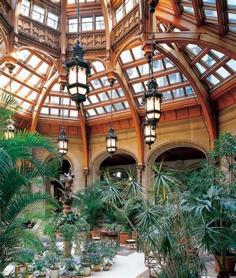 fantastic indoor greenhouse dream home biltmore estate