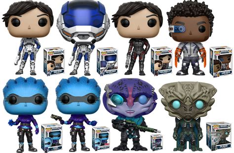 mass effect andromeda funko figurines featuring jaal