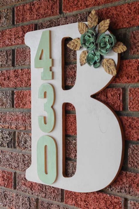 fun  functional ways  display house address numbers zing blog  quicken loans zing