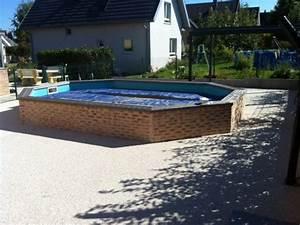 Amenagement Piscine Hors Sol : am nagement de piscine l 39 art eau jardin ~ Preciouscoupons.com Idées de Décoration