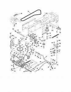 Craftsman Model 917289031 Lawn  Tractor Genuine Parts