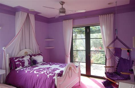 purple and brown bedroom bedroom at real estate