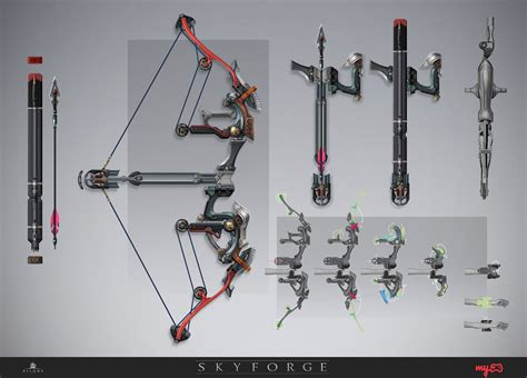 Futuristic Bow And Arrow Concept Art  Google Search