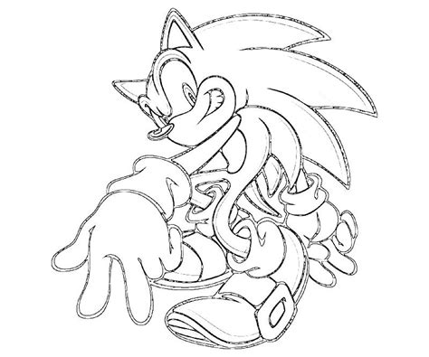 coloring pages  sonic characters coloring home