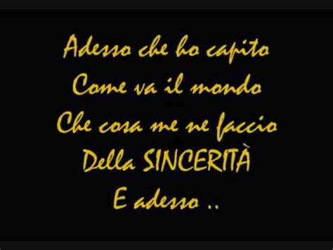 Dillo Alla Testo Vasco by Vasco Dillo Alla Incredibile Romantica Doovi