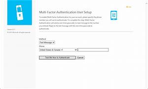 User portal for Azure MFA Server | Microsoft Docs