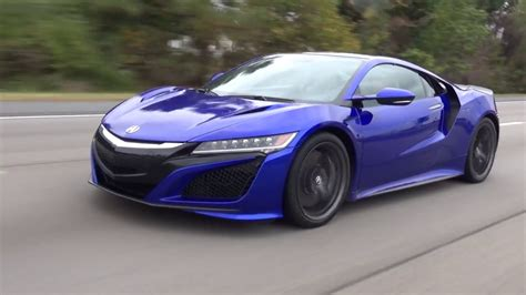 2018 acura nsx quick take on a fast car youtube