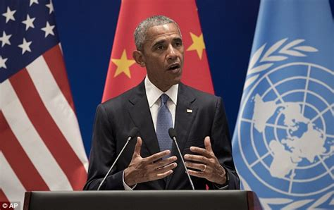 'This is our country!' says Chinese official as Barack ...