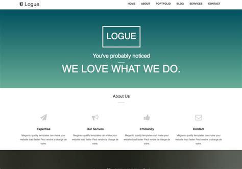 Logue Blogger Template • Blogspot Templates 2020