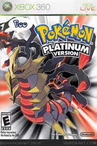 pokemon platinum cover
