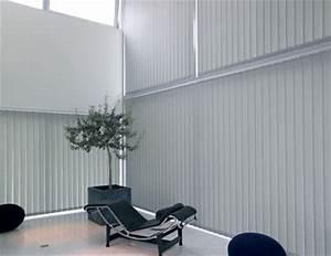 Store à Lamelles Verticales : store lamelles verticales fabriqu sur mesure domeau ~ Premium-room.com Idées de Décoration