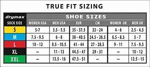 Sock Size Conversion Chart Drymax Lite Hiking Socks Crew Ultramarathon Running Store