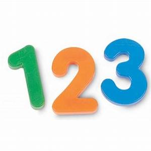 learning resources jumbo magnetic letter numbers combo With magnetic letter and number sets