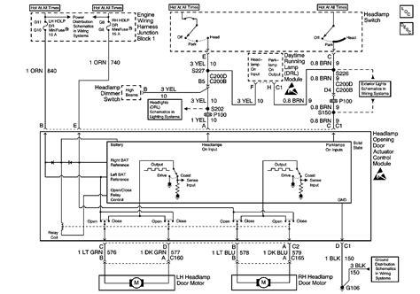 headlight wiring diagram lstech