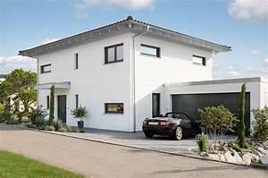 Stadtvilla Mit Garage : walmdach villa individuell modern bauen mit ~ A.2002-acura-tl-radio.info Haus und Dekorationen