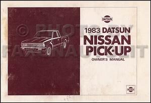 1983 Nissan 720 Series Pickup Truck Repair Shop Manual