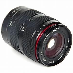 10% Discount: Meike 85mm f2.8 Macro Lens (Fuji FX Mount & Sony NEX E Mount available ...