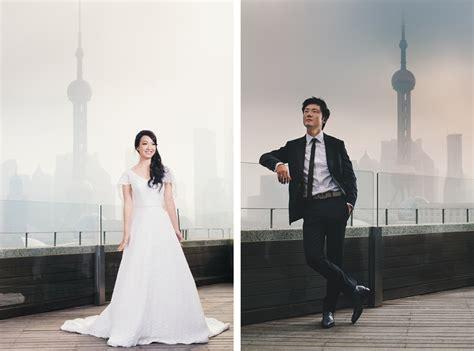 shanghai pre wedding photography   bund spotted