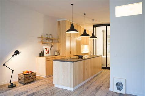 transformer sa cuisine un loft industriel moderne épuré et très lumineux i