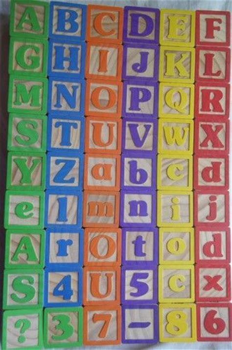 Building toys, Alphabet blocks and Alphabet on Pinterest