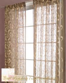 Extra Long Black Curtains by Zino Sheer Curtain Panel Available In 6 Colors