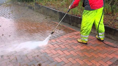 power washing pavers is a great way to maintain the