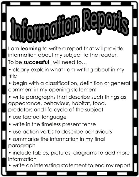 What Information Do I Need To Write A Resume by Classroom Treasures Writing