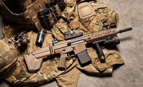 Fn Scar Rifle Hd Wallpapers