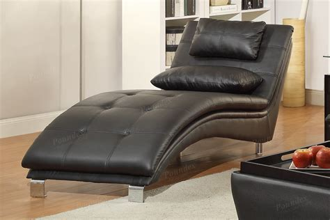 black leather chaise lounge steal  sofa furniture