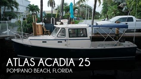 Used Atlas Boats Sale by Atlas Acadia 25 1997 For Sale For 49 900 Boats From Usa