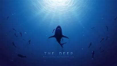 Wallpapers Deep Sea Ocean Desktop Wallpapersafari Underwater