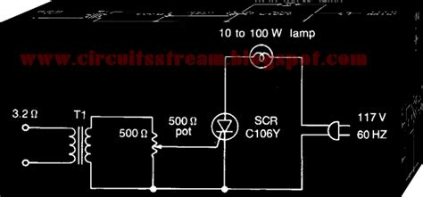 Very Simple Color Organ Circuit Diagram Electronic