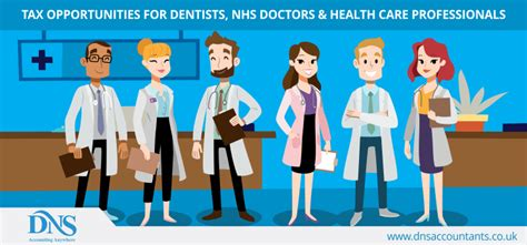 saving tax  dentists nhs healthcare professionals  uk