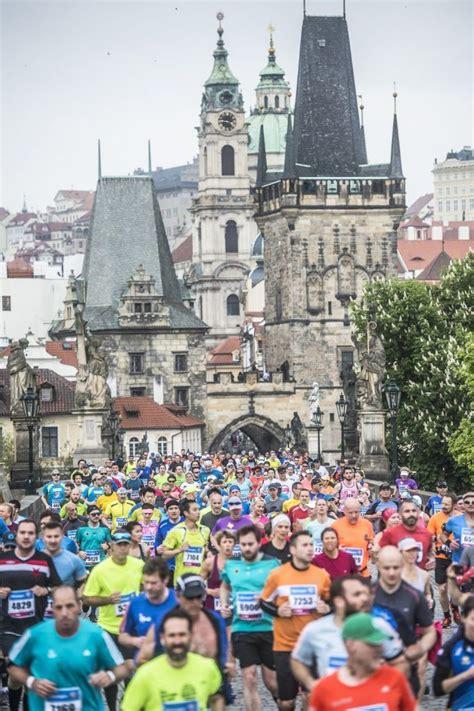 jahre prag marathon   mai