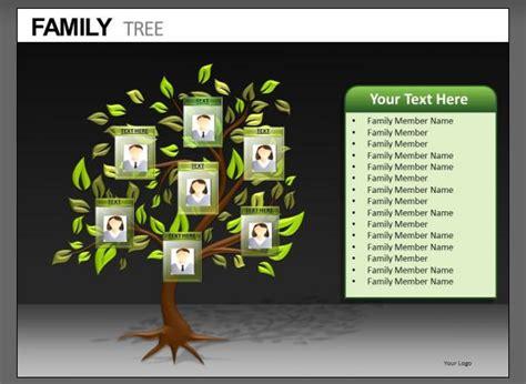 powerpoint family tree templates  premium