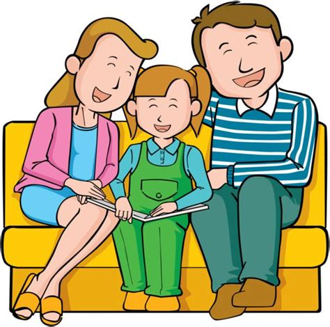 family reading together clipart 77 best images about family on wallpapers