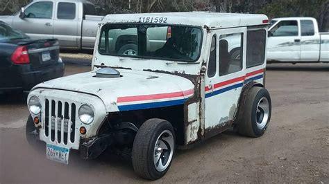 mail jeep 4x4 haulin 39 mail 1971 jeep dj custom