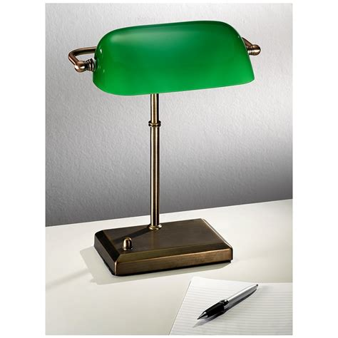 lighting bankers lamp  wooden tables hungonucom