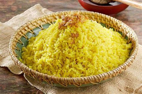 Resep nasi kuning tumpeng sangat komplit. Resep Nasi Kuning - Resepedia