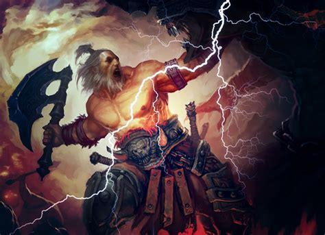 god thunder lightning barbarian born diablo whirlwind version path diablofans bastion bolt forums don read