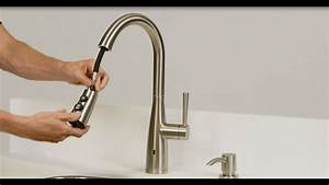 Pfister installing a raya electronic pull down kitchen for How to remove aerator from bathroom faucet