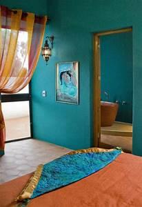 Wandgestaltung Putz Effekt : wandgestaltung mit farbe blau und schattierungen von blau ~ Eleganceandgraceweddings.com Haus und Dekorationen