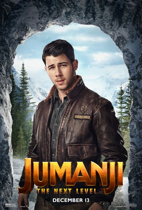 Jumanji: The Next Level character posters welcomes ...