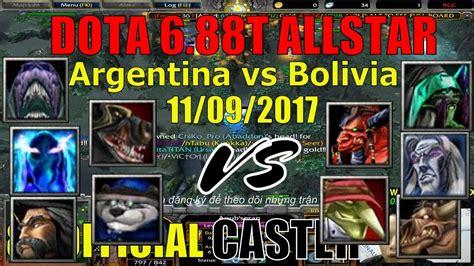 dota 1 gameplay argentina bolivia dota 6 88t 11 09 2017 youtube