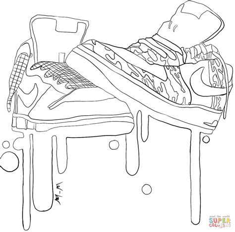 Nike Coloring Pages 33042