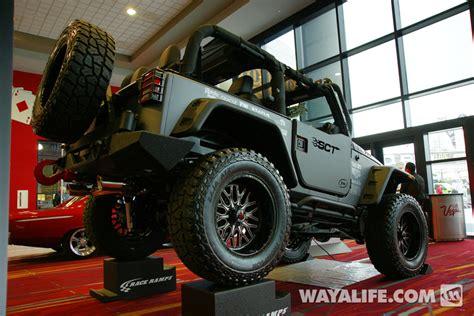 grey jeep wrangler 2 door 2013 sema gray sct jeep jk wrangler 2 door