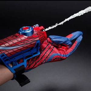 Pics For > Spiderman Hand Shooting Web