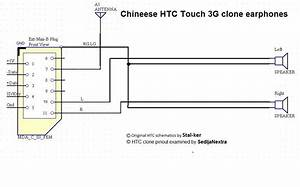 Htc Chineese Clone Headphones Adapter Pinout And Wiring