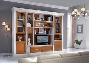 pareti attrezzate classiche n29 pareti attrezzate pinterest With vetrina soggiorno bianca