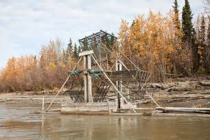 Fish Wheel Tanana River Alaska